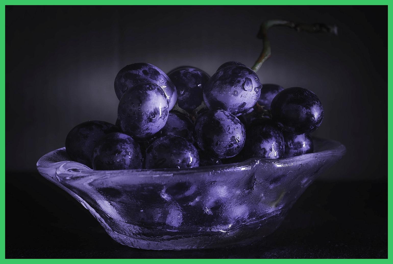 Blaue Trauben – Moody Style