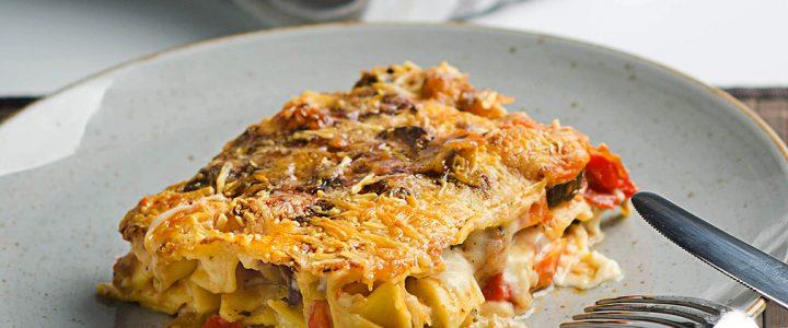Gemüse-Lasagne vegetarisch – so gut wie mit Hackfleisch